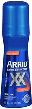 Arrid Xx Roll-On Antiperspirant And Deodorant, Regular - 2.5 Oz