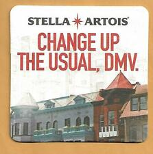 16 Stella Artois Change Up the Usual, DMV. Beer Coasters