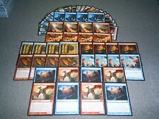MTG Magic MODERN SCOURGE OF VALKAS DECK Search the City DRAGON LOT Custom Izzet