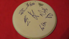 """THE WANTED GROUP SIGNED 14"""" REMO DRUMHEAD"""