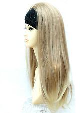 3/4 Wig Half Wig Clip In Hair Piece 2 Tone Strawberry Light Blonde Mix  Vogue UK