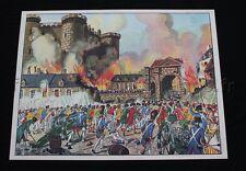 C285 Affiche scolaire Prise Bastille 1789 Serment Jeu de Paume MDI 91*68  ecole