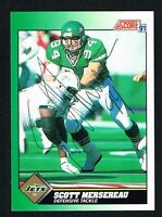 Scott Mersereau #305 signed autograph auto 1991 Score Football Trading Card
