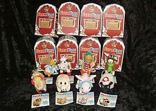Zynga Farmville Collectable Plush Christmas Ornament COMPLETE SET OF 8  NEW!