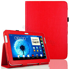 Red Stand Leather Case Cover For Samsung Galaxy Note 10.1 N8000 N8010 Tablet