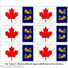 CANADA Canadian COAST GUARD Flag CCG, Mobile Cell Phone Mini Stickers, Decals x6