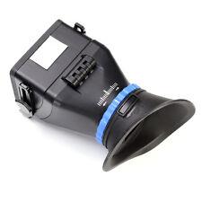 """Universal LCD lolupe Viewfinder Eyecup F 3.2"""" Nikon Canon Panasonic Pentax DSLR"""