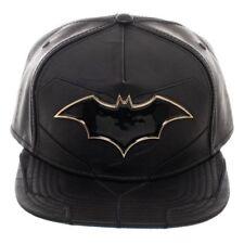 d071e62f32e DC COMICS BATMAN REBIRTH METAL CLASSIC LOGO PU SUIT UP COSTUME SNAPBACK HAT  CAP