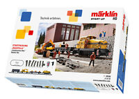 Märklin 29184 Digital Startpackung Baustelle mit Diesellok DHG 500