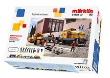 Märklin 29184 Numérique Emballage De Départ Chantier De Construction