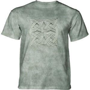 Mountain Adult T-shirt Stone Knot