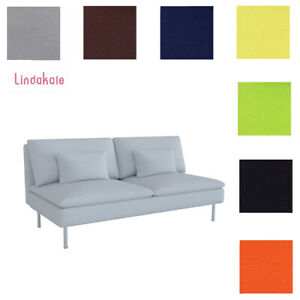 Custom Made Cover Fits IKEA Soderhamn Sofa Section, Three Seat Section Cover