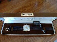 LONGINES ADMIRAL AUTOMATIC VINTAGE 18K SOLID GOLD WRIST MEN WATCH