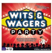 WITS & WAGERS Board Game - Party Trivia Edition Game Xmas Gift