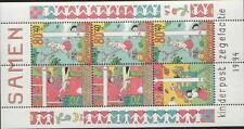 Nederland NVPH 1627 Vel Kinderzegels 1994 Postfris