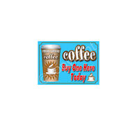 COFFEE STICKER for catering trailer A4