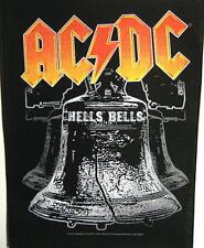 """AC/DC RÜCKENAUFNÄHER / BACKPATCH # 10 """"HELLS BELLS"""" - 36x30cm"""