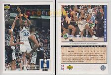 NBA UPPER DECK 1994 COLLECTOR'S CHOICE - Jamal Mashburn #157 - Ita/Eng- MINT