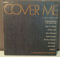 """COVER ME - Compilation of Springsteen Covers - 12"""" Vinyl Record LP - EX (1986)"""