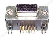 PC Board VGA Female Connector 15-Pins (1402-7129)