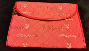 Woman's Playboy Pink  organiser/holiday wallet bag☆Medium size ☆New☆Hook ☆