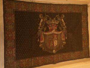 Beautiful Flemish Tapestry Crest New