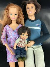 Barbie Doll Happy Family Midge Ryan Birthday Alan Dolls Father Mother Son