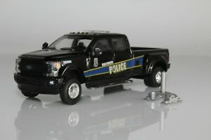 Ford F-350 with Flatbed  # 12272 blue 1//64 scale