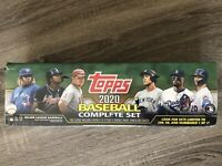 2020 Topps MLB Baseball Complete Set. Walmart Exclusive Green. Sealed Brand New.