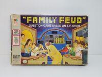 Vintage Family Feud Board Game 1977 Milton Bradley Fun Game