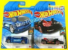 Hot Wheels 2021 - Lot of 2 - T-HUNT DEORA II - Deora III - H31