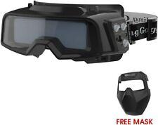 YESWELDER True Color Auto Darkening Welding Goggles,Wide Shade Range 4/5-9/9-13