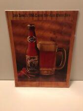 Jack Daniels Winter Brew Advertising Sheet