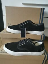 FRED PERRY MERTON BLACK PORCELAIN TRAINER'S SIZE UK 8