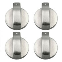 Alloy Gas Stove Silver Metal Rotary Switch Cooker Control Knobs Kitchen Tool