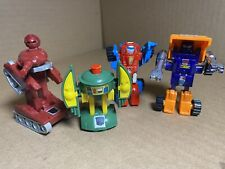 Transformers rare original G1 vintage 1984 1985 lot of 4 Minibots lightly used