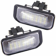 LED Kennzeichenbeleuchtung für Mercedes SL R230 | CLK Coupe + Cabrio 209 [7206]