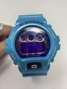 Casio G-Shock Men's Watch DW6900CB-2 (1289) Blue Crazy Colors Rare