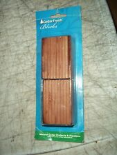 Bnip Natural Cedar Fresh Blocks Protects Freshens Closets Drawers Backpacks