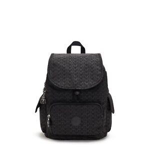 Kipling Medium Backpack Rucksack CITY PACK S SIGNATURE EMB FW21  RRP £93