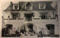Vintage The Villa Queens Ave Jersey C.I. Postcard