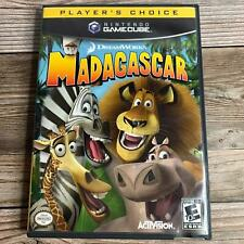 Madagascar Dreamworks Nintendo Gamecube 2005 *Tested *Complete