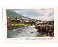 Mostar on the Narenta, Bosnia, Book Illustration (Print), c1920