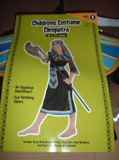 CLEOPATRA Nile Queen COSTUME S 4 6 Small 4pc NEW Girls DRESS BELT HEADPIECE Kids