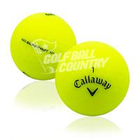 24 Callaway Superhot Matte Yellow AAA (3A) Used Golf Balls