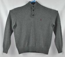 Polo Ralph Lauren 3 Button Mock Pullover Sweater Size XL