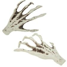 2pcs Halloween Plastic Skeleton Hand Bone Model Decoration Props Haunted House