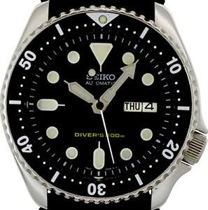 Vintage Mens Watch SEIKO 7S26 Diver SKX Mod w/all Original Sekio Hand Set