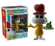 Funko Pop! Dr Seuss - Sam I Am #05 Limited Flocked Vinyl Figure - New & Sealed