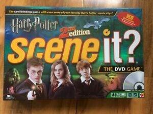 Harry Potter 2nd Edition Scene It - Game Spares / Parts / Replacement Pieces